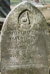 Joseph Halbrook Tombstone
