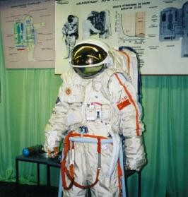 Mir Orlan Space Suit
