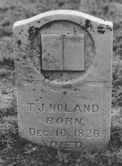 TJ Noland Tombstone