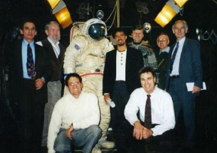 Zvezda and NASA Test Teams