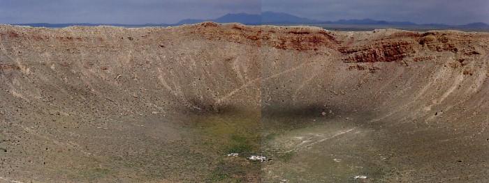 Crater Floor to Rim